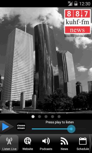 KUHF News for Houston