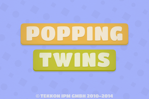 Popping Twins - Memory Game