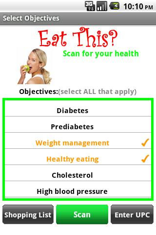 Eat This? Diet for weight loss - screenshot