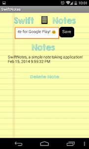 SwiftNotes - Simple Notes screenshot 2