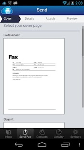 uFax - Online Fax in the Cloud- screenshot thumbnail