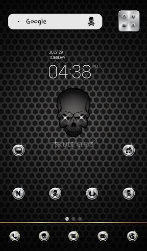 skull chic dodol theme