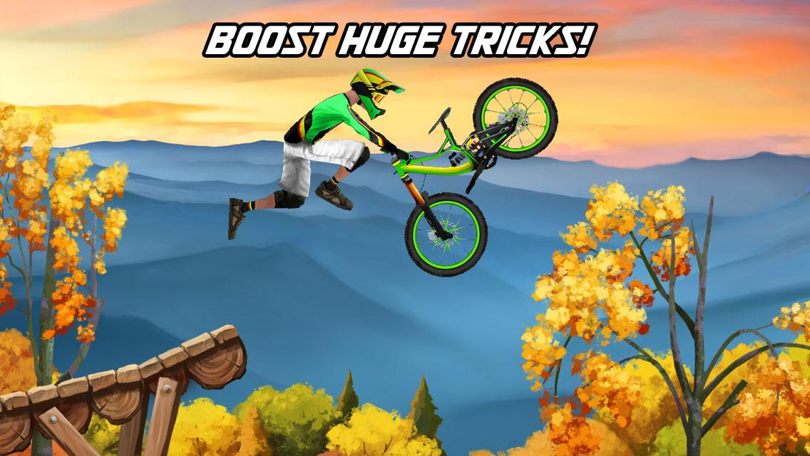 Bike Mayhem Mountain Racing - screenshot