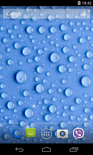 Water Drops Live Wallpaper