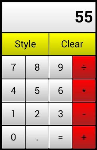 Design Calculator - 25 styles