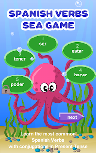 Spanish Verbs Learning Game - náhled