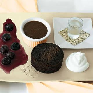 Deconstructed Black Forest Cake.