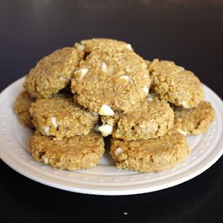 White Chocolate Oatmeal Pumpkin Cookies