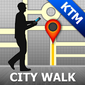 Kathmandu Map and Walks
