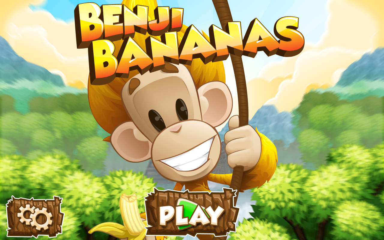 Screenshots of Benji Bananas for iPhone