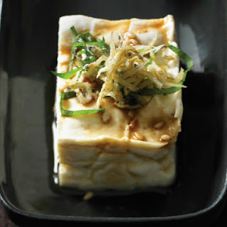 Andrea Nguyen's Chilled Tofu with Crunchy Baby Sardines