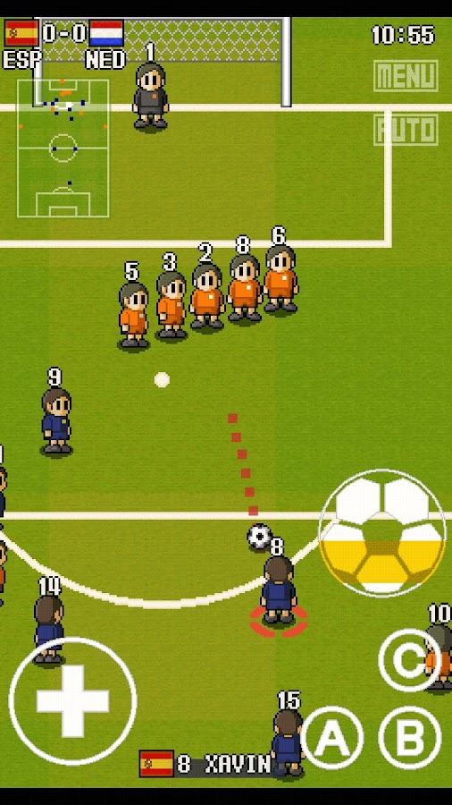 PORTABLE SOCCER DX Lite- screenshot
