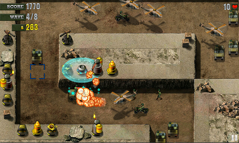 Defend The Bunker - screenshot