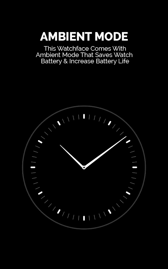 Vibrant Military Watch Face- screenshot