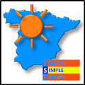 Simple Weather Spain icon