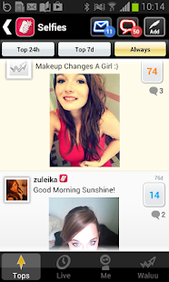Waluu : Dating and Humor - screenshot thumbnail