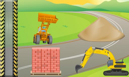 【免費教育App】挖掘機  遊戲的孩子 汽車 !-APP點子