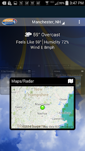 WMUR Weather- screenshot thumbnail