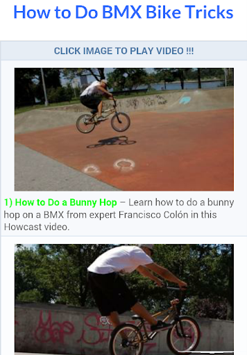 Best BMX Bike Tricks