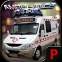City parking 3D - Ambulance icon