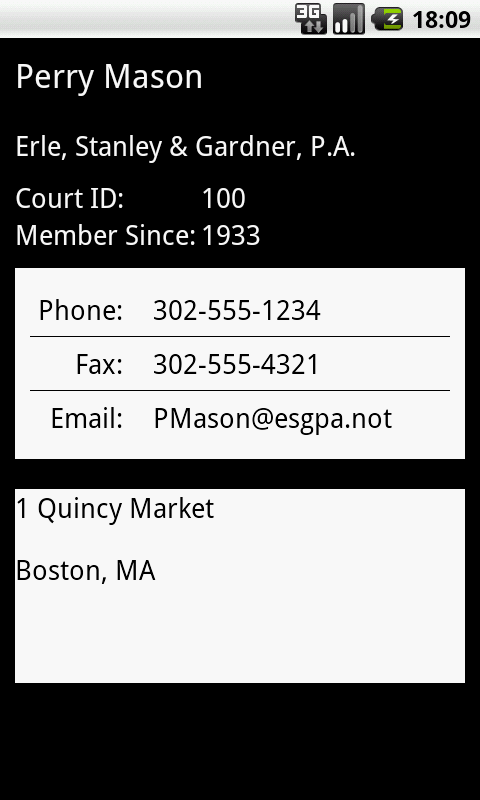 Delaware Legal Directory- screenshot