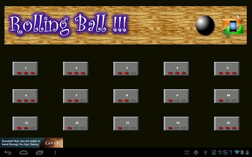 Rolling Ball - Falldown- screenshot thumbnail