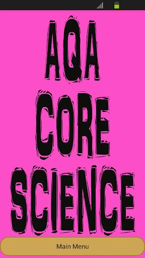 GCSE Core Science - AQA