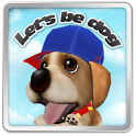 Let's be dog!!(puppy, pet) icon