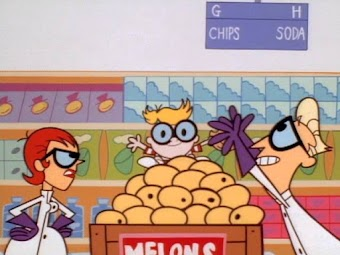 Dexter's Lab:A Story/ Coupon for Craziness/ Better Off Wet
