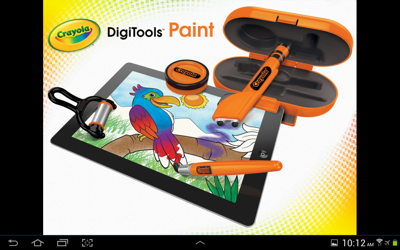 crayola digitools paint android apps on google play. Black Bedroom Furniture Sets. Home Design Ideas