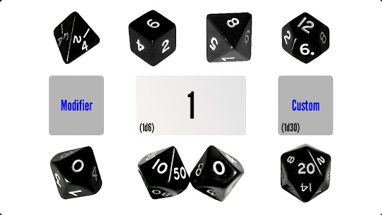 Black Dice - RPG Dice Roller - screenshot thumbnail