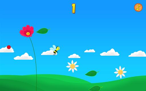 꿀벌 잎 - 써니 꽃 게임
