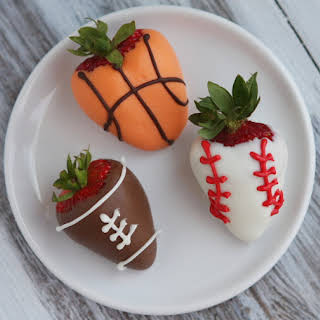 Sports- Dipped Strawberries.