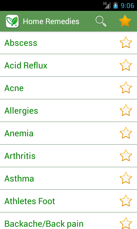 Home Remedies (Plus) - screenshot