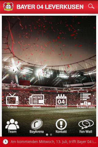 Bayer 04 Leverkusen- screenshot