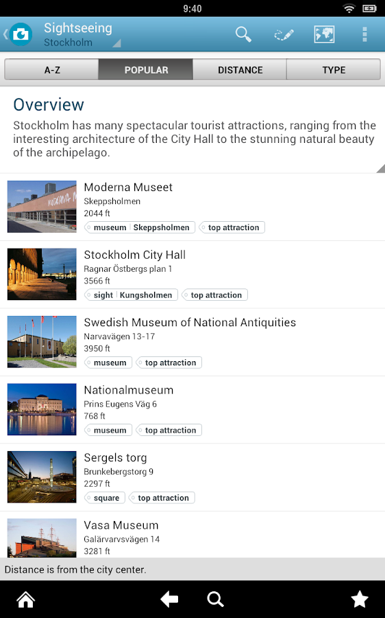 Stockholm Travel Guide Triposo- screenshot