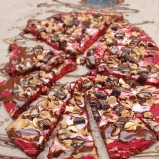 Beet Crust Dessert Pizza.