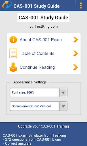 玩免費教育APP|下載CompTIA CAS-001 Guide Demo app不用錢|硬是要APP