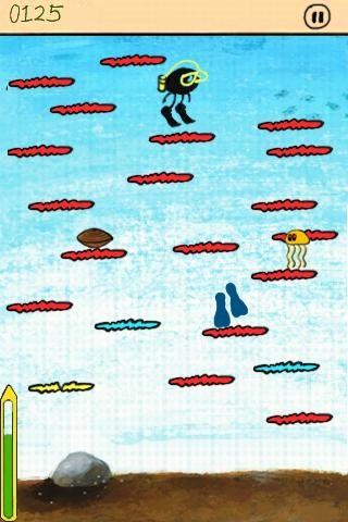 (Free)Doodle Jump Now!!! - screenshot