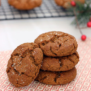 Grain-free Spiced Molasses Cookies – Gluten-free & Dairy-free.