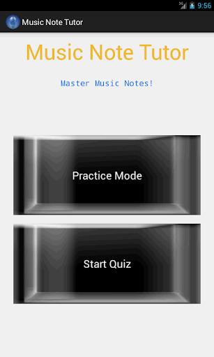 Music Note Tutor