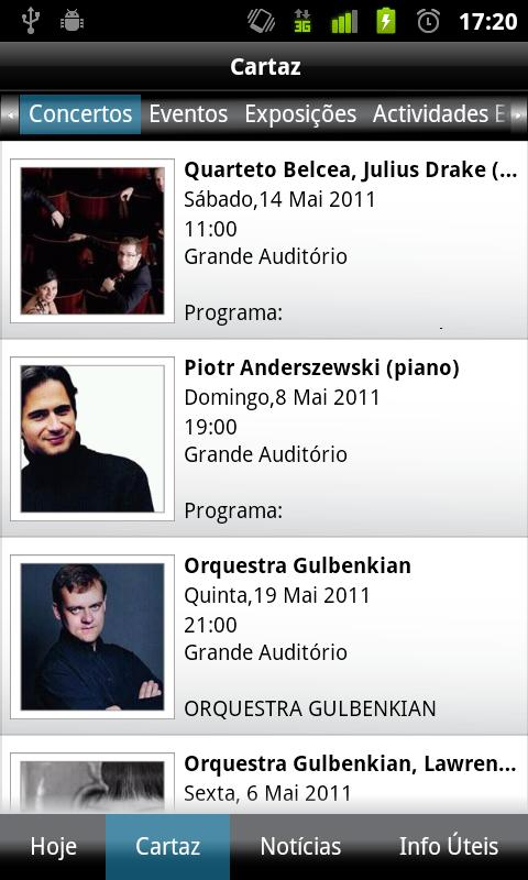 Fundação Calouste Gulbenkian- screenshot