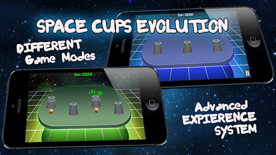 Space Cups Evolution