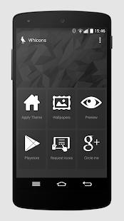 Whicons - White Icon Pack - screenshot thumbnail