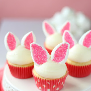 Easy Bunny Cupcakes Recipe