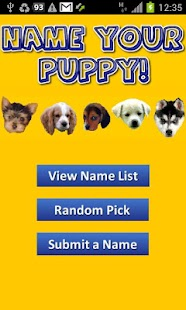 Name Your Puppy! (FREE) - screenshot thumbnail