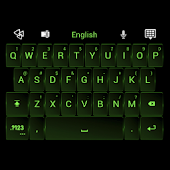 GO Keyboard Neon Green Theme