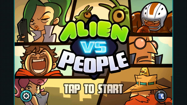 Alien Vs People- screenshot