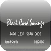 Black Card Savings - Free