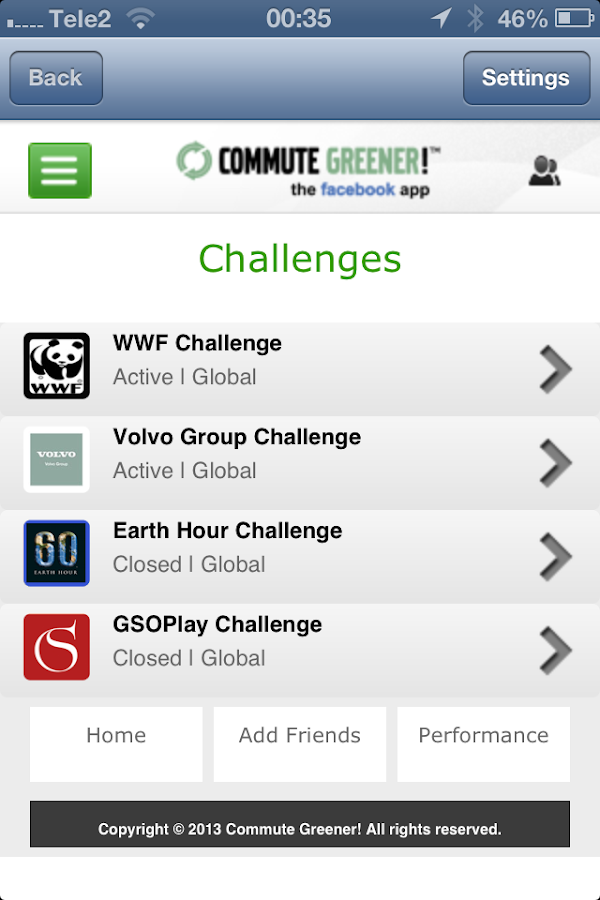Commute Greener – smarter ways- screenshot
